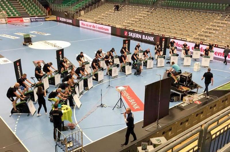 Spinning event i Skjern Håndbold